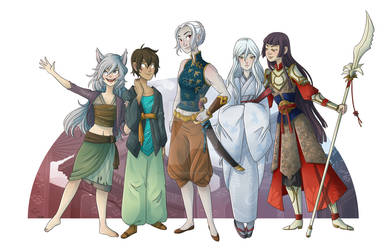 Commission: Exalted Party