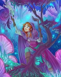 Commission: Druid PC