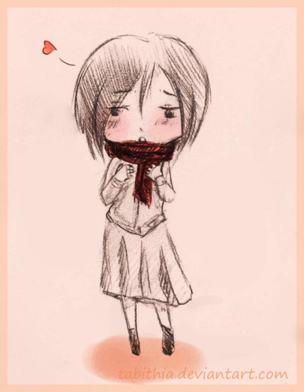 :Mikasa: by tabithia