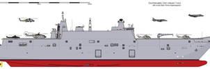 Republic of Ezo - Otori Keisuke-class LPH