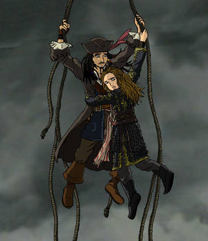 Jack and Elizabeth Fly Away