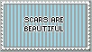 Scars Are Beautiful Stamp (READ DESCRIPTION) by TransWeirdo