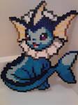 Pokemon: Perler Bead Vaporeon