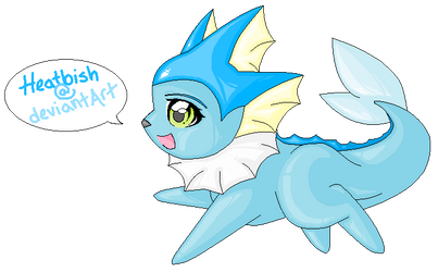 Vaporeon - DeviantArt ID by heatbish