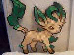 Pokemon: Perler Bead Leafeon