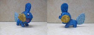 Pokemon: Glitter Mudkip by heatbish