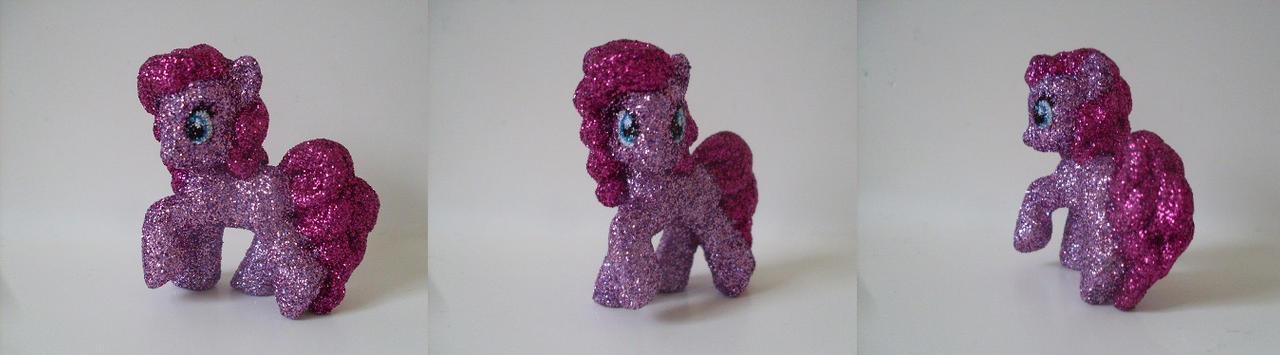 My Little Pony: Glitter Pinkie Pie by heatbish