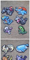 Pokemon: Perler Bead Dream Teams
