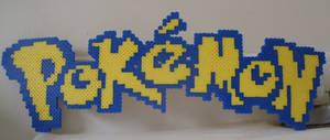 Pokemon: Perler Bead Pokemon Logo