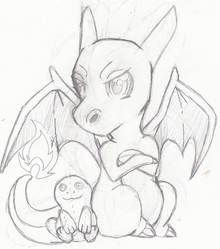 Pokemon - Charizard by heatbish