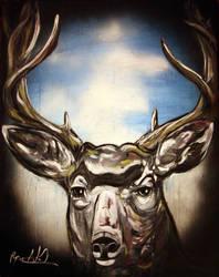 deer by jahshalom