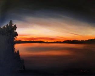 Canadien Sunset by jahshalom