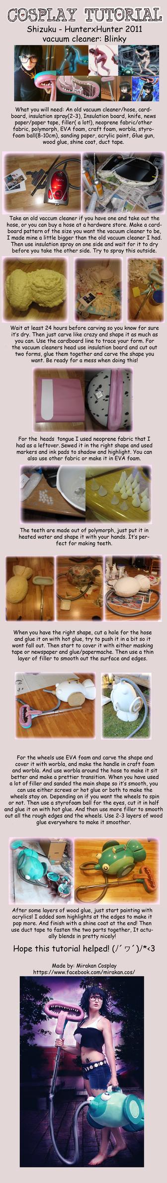 Cosplay tutorial - Blinky Hunter x Hunter 2011 by Mirakan