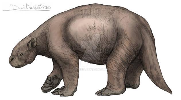 Jefferson's ground sloth