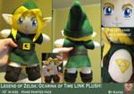 LOZ:OOT Kid Link Plush