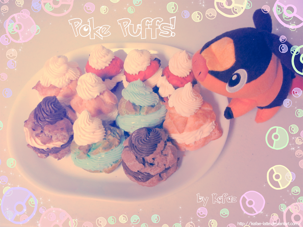 Poke Puffs by Kafae-Latte