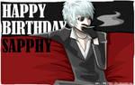 Happy birthday, Sapphy