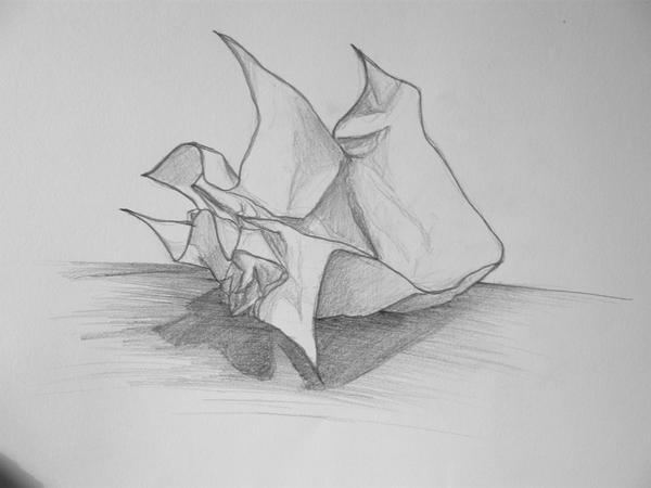 my first sketch by silverlady89
