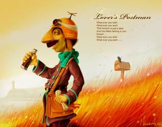 lover's postman by manasrah