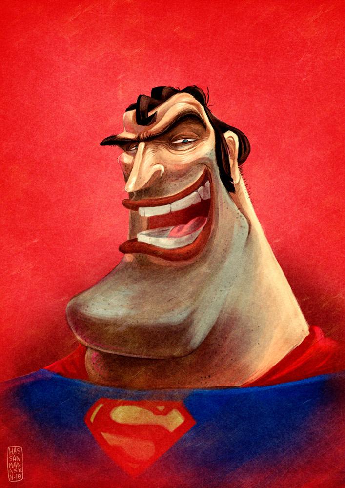 super man by manasrah