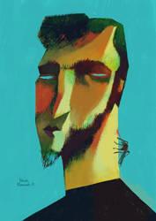 Self Portrait by manasrah