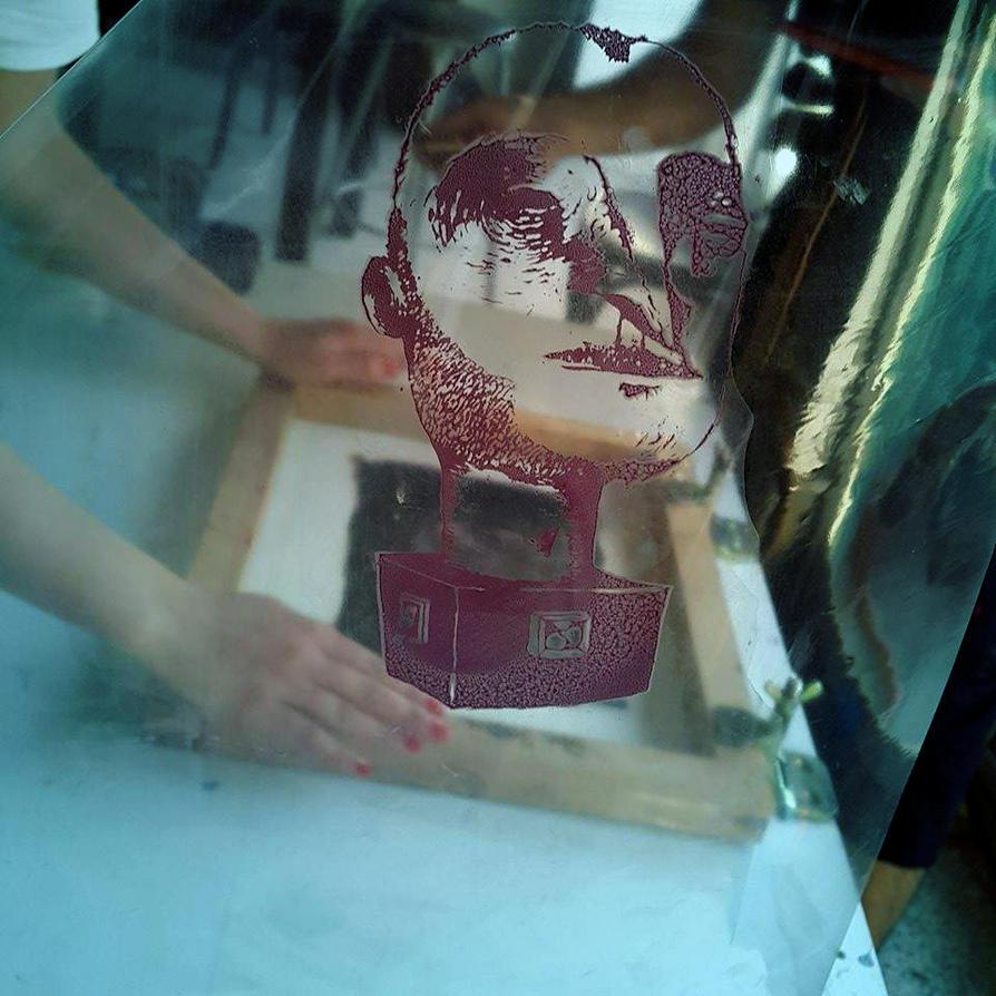 Silkscreen Print 2 by manasrah
