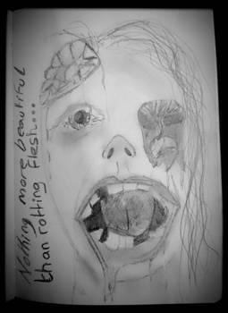 Beauty of rotting flesh...