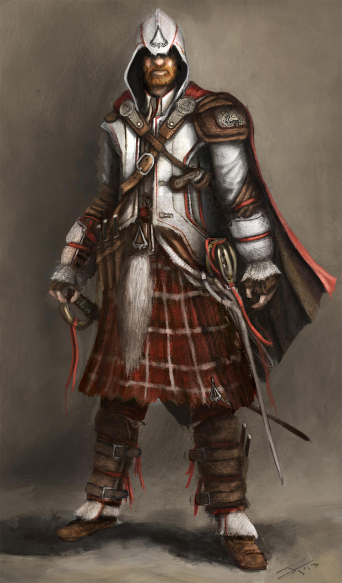 Scottish Assassin by JamesFinlayson