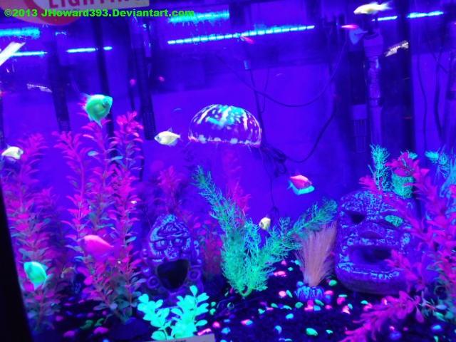 Black light aquarium oc by jhoward393 on deviantart for Black light for fish tank