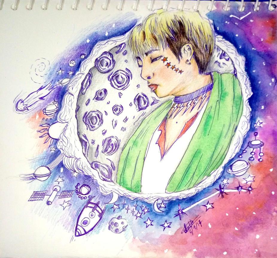 Space Boy Jonghyun! by alankrita-sweetstar