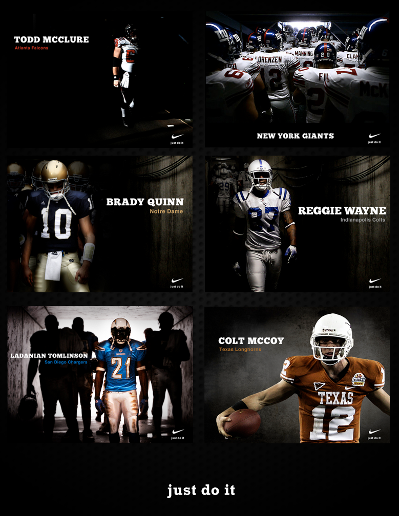 Fictional Nike Football Ads by Addicted2Chaos on DeviantArt