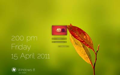 Windows 8 Logon Screen Concept