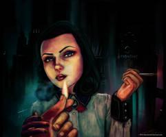 Elizabeth Bioshock by Fanartittude