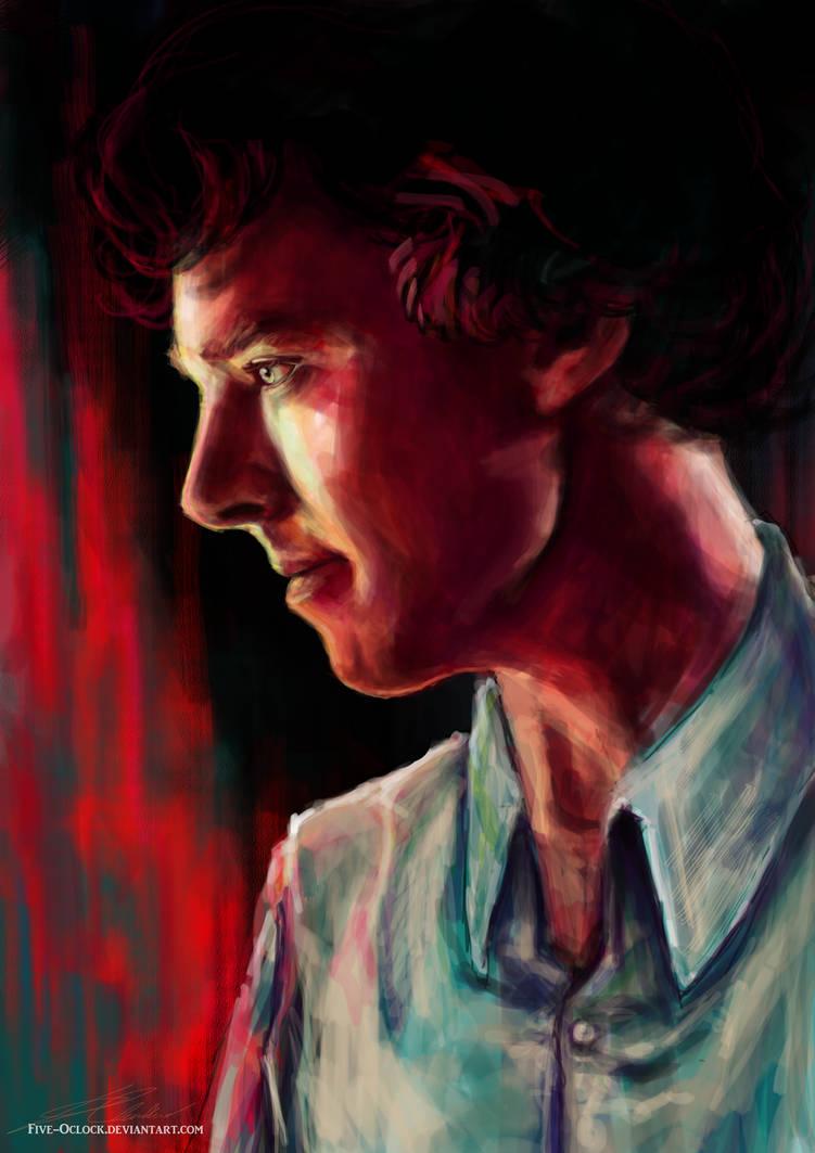 Sherlock by Fanartittude