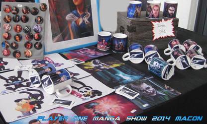 Player One manga show 2014 by Fanartittude