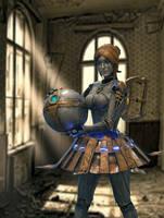The Clockwork Maiden by Koyzumie