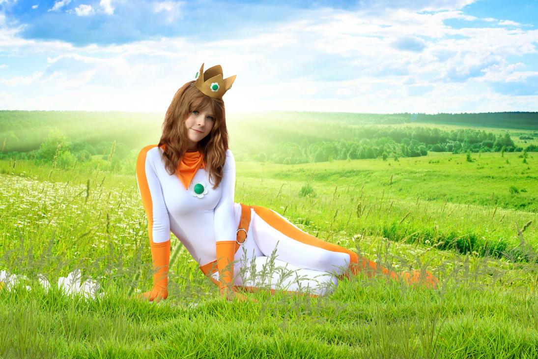 Field of Daisy by Koyzumie