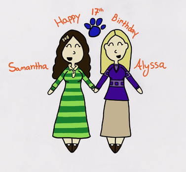 Happy Birthday, Alyssa!