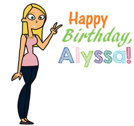 Happy 18th Birthday, Alyssa!