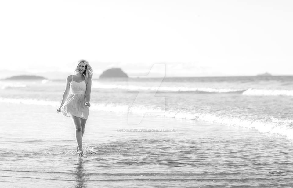 Long Walks on the Beach by Hayleigh-Rose