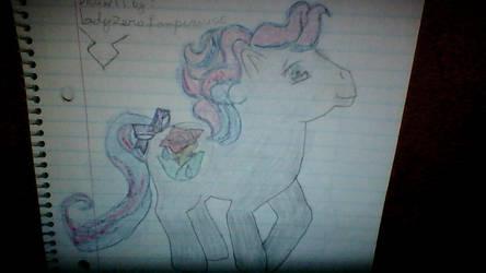 Mlp  Rose Rain  Drawing   2011