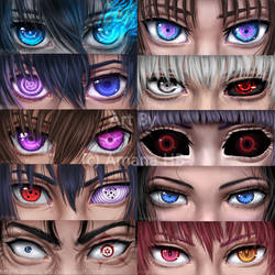 Anime Eyes by Amana-HB