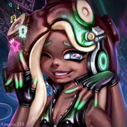 Splatoon 2 Marina by Amana-HB