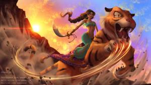 Jasmine - Disney Warriors Project