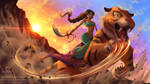Jasmine - Disney Warriors Project by Amana-HB