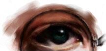 Harry's eye by Hongqian
