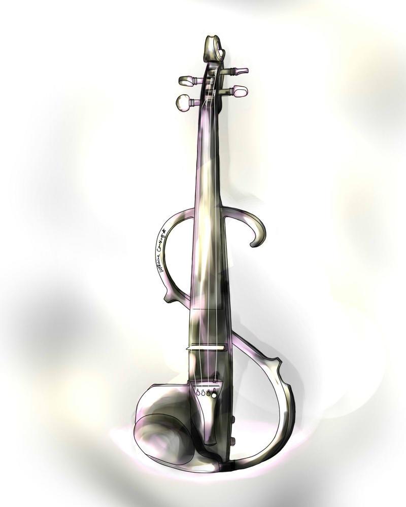 Violin Wallpaper: Electric Violin By Lorrainer On DeviantArt