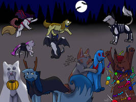 Halloween - Contest Entrie by Hoffnungsstern