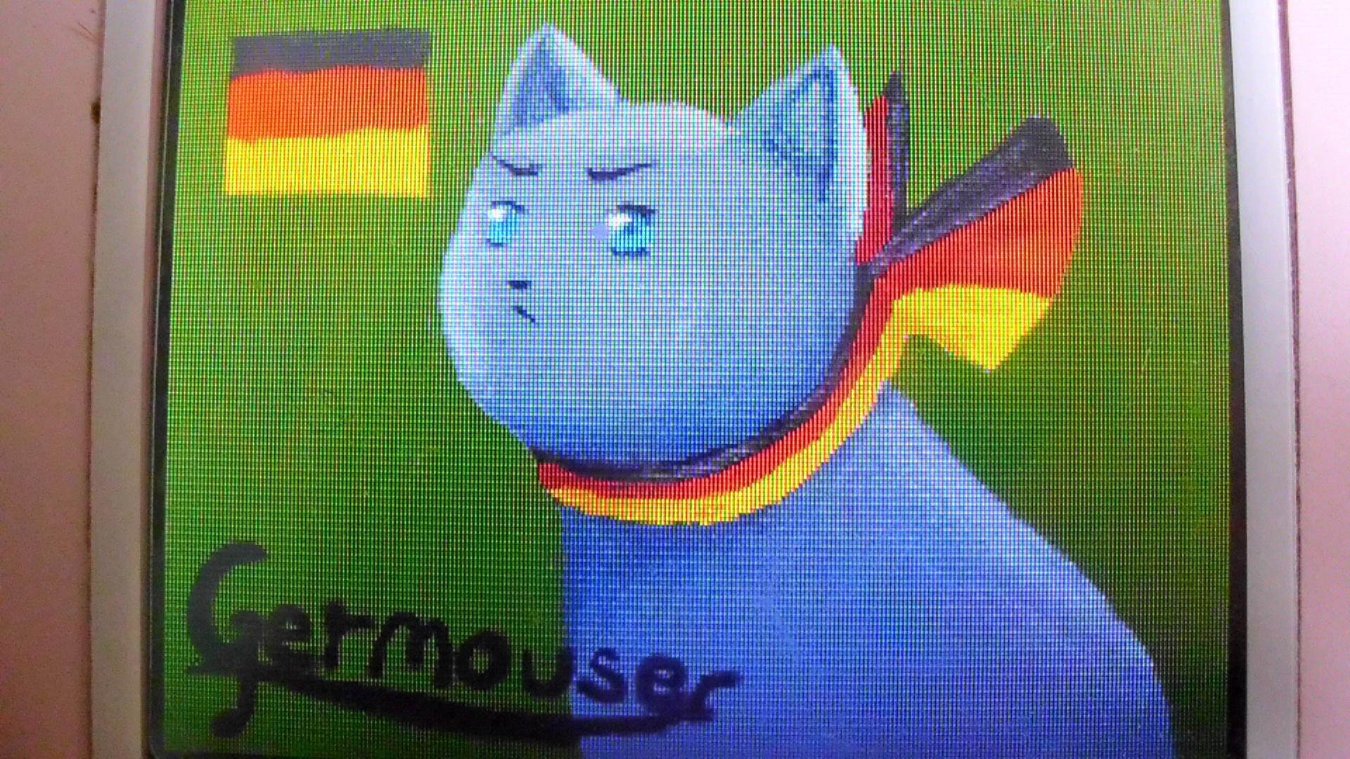 Nekotalia fanart : Germouser by Hoffnungsstern