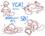 YCH Auction | OPEN | Any Species | 100 point SB by Hoffnungsstern